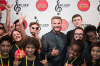 Kenny Loggins with Little Kids Rock Students