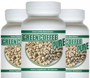 Pure Green Coffee Bean Extract Supplement'