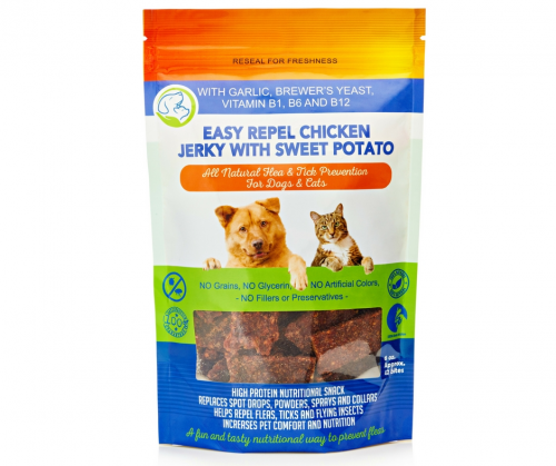 Flea and Tick Prevention Jerky for Dogs and Cats'