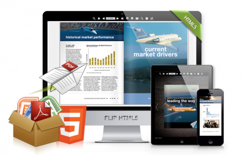Publish iPad Page Turning eBook With FlipHTML5'