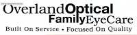 Overland Optical Family Eye Care Logo