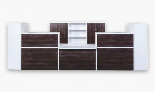 Reception Desk Unit from Office Stock in South-Africa'