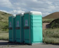Portable Restrooms rental Colorado from S & B Porta-Bowl