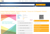 Global Medical Robotic Systems Market - Focus on Orthopedic