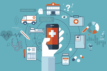 mHealth (Mobile Healthcare) Ecosystem