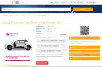 Global Driverless/SelfDriving CarMarket 2025