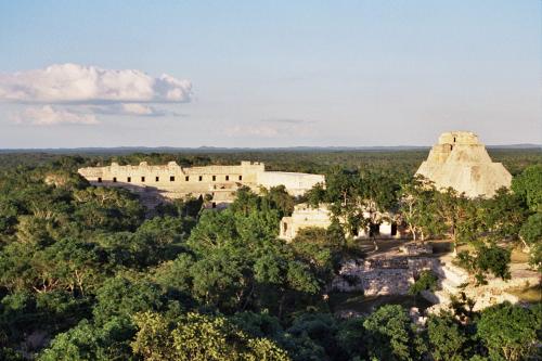 Maya Ruins in Mexico'