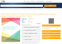 South Korea Medical Tourism Market Insights, Opportunity