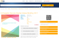 Orthopedic Devices Market Global Briefing 2017