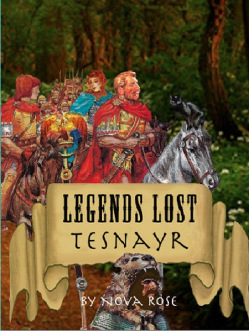 Legends Lost Cover'