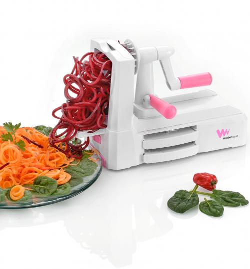 WonderEsque Compact Veggie Spiralizer'