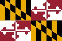 Maryland Flag'