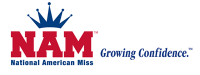 National American Miss Logo