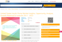 United States Insulin Pump Market Insights, Opportunity