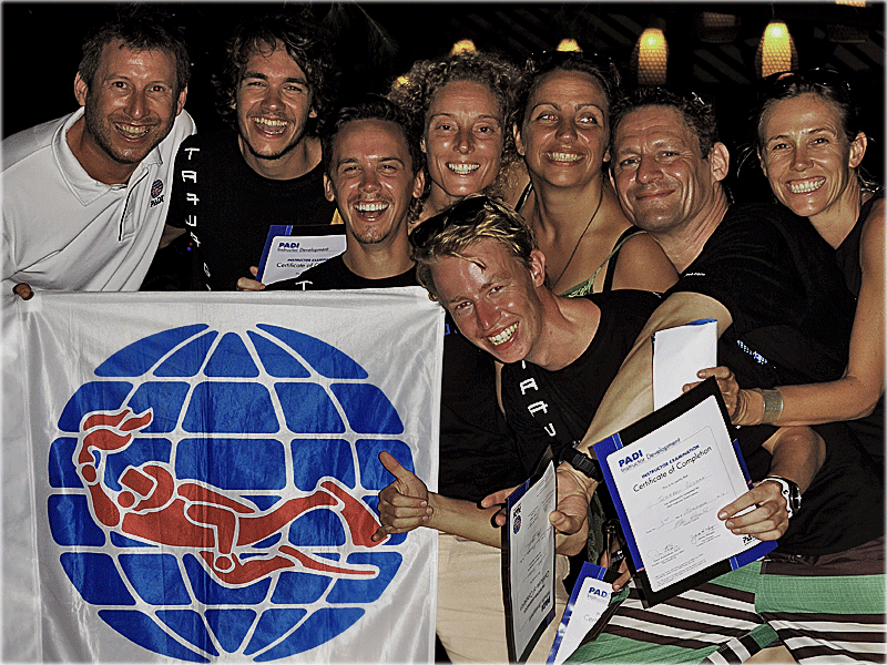 Holly Macleod, Multi Award Winning Triple Platinum PADI IDC