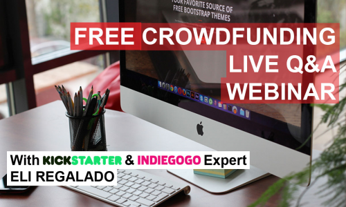 Krowdster Live Crowdfunding Q&A Webinar'
