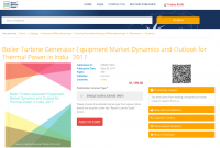 Boiler Turbine Generator Equipment Market Dynamics