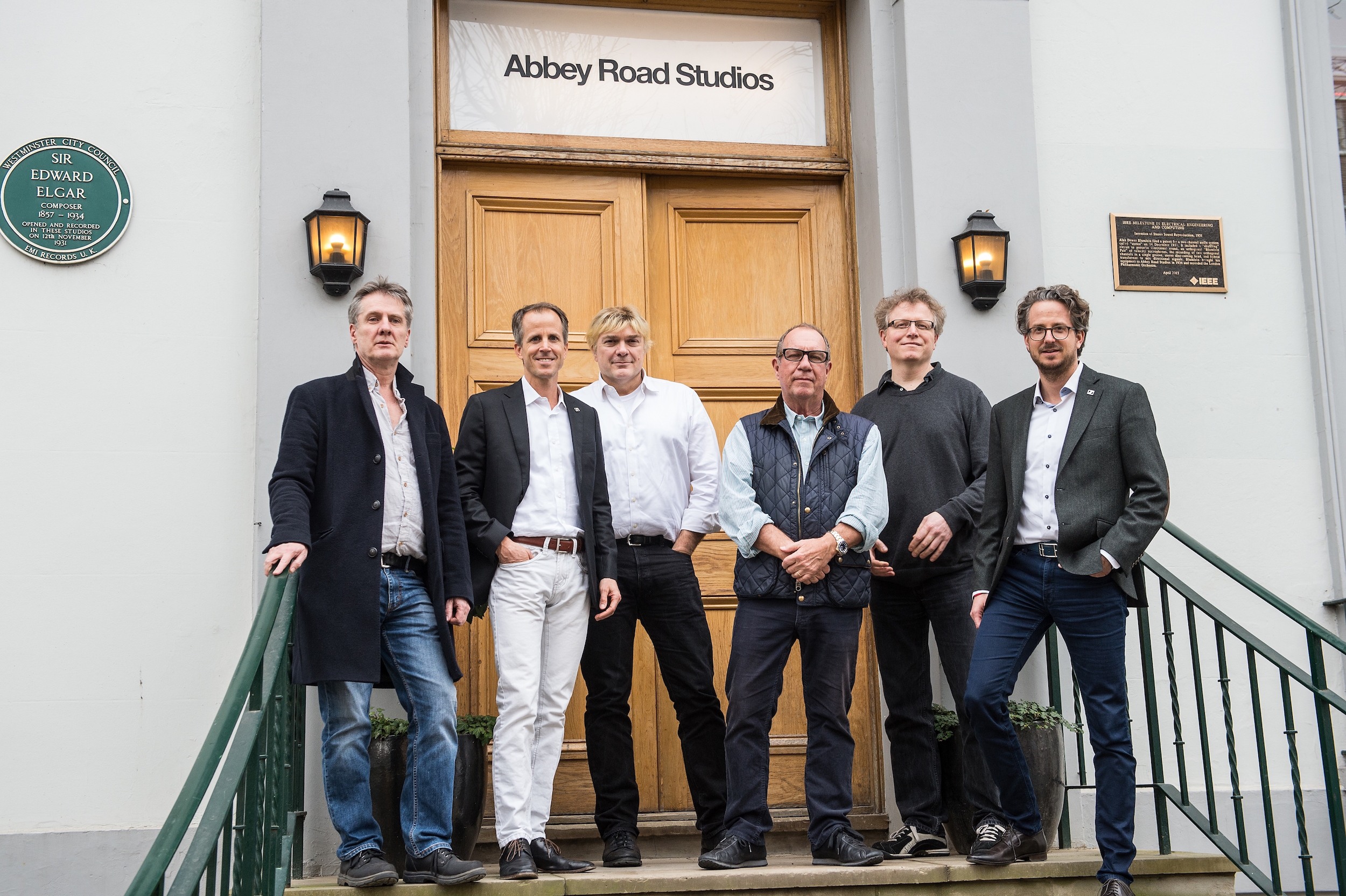 Sennheiser and Pink Floyd at Abbey Road