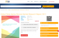 Global Sleep Apnea Devices Market Research Report 2017