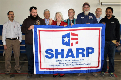 Automated Solutions SHARP Flag'