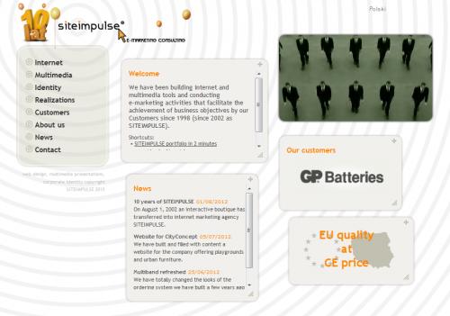 screenshot: www.siteimpulse.eu'