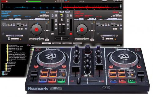Numark Party Mix DJ Controller'