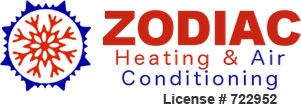 Company Logo For Zodiac Heating & Air Conditioning, '