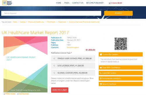 UK Healthcare Market Report 2017'
