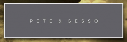 Company Logo For Pete and Gesso'