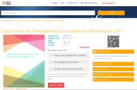 Global Drugs for Osteoarthritis Pain Industry Market 2017