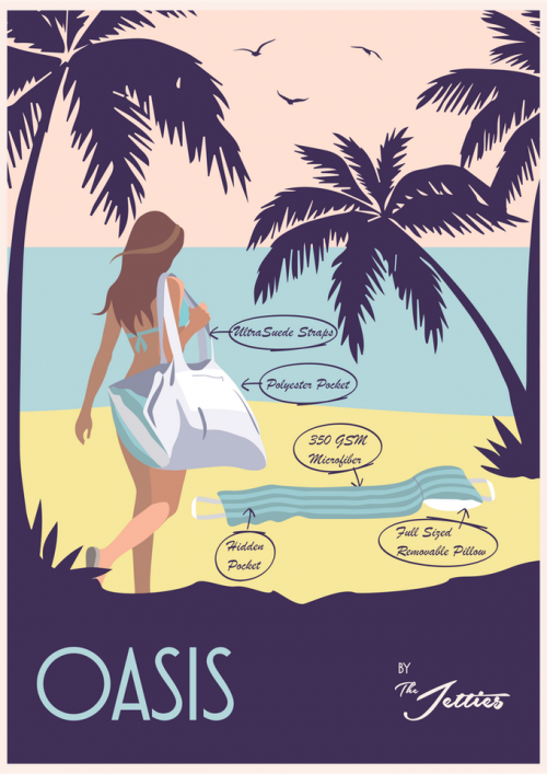 the Oasis - the Ultimate Beach Companion'