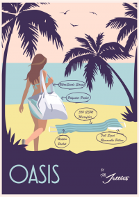 the Oasis - the Ultimate Beach Companion