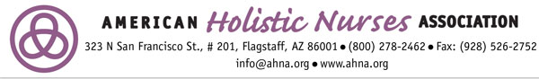 American Holistic Nurses Association Logo
