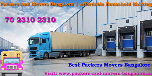Packers And Movers Bangalore   Affordable Household Shifting'