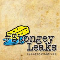 #SpongeyLeaks Logo