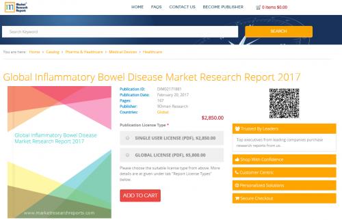 Global Inflammatory Bowel Disease Market Research Report'