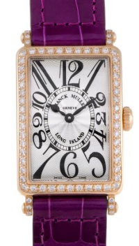 Franck Muller Long Island Womens Quartz Rose Gold Diamond
