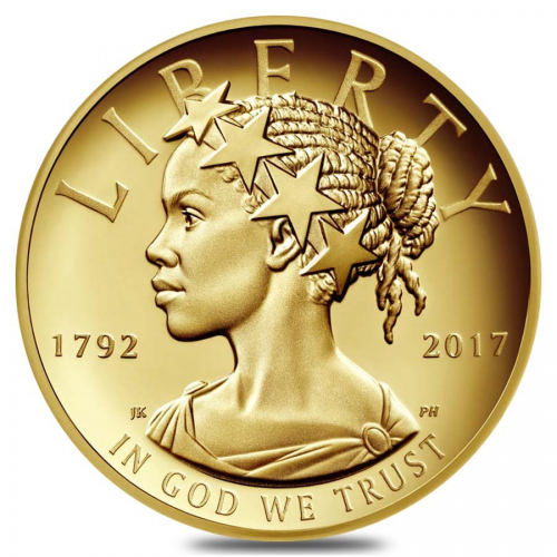 2017 W 1 oz $100 American Liberty High Relief Proof Gold Coi'