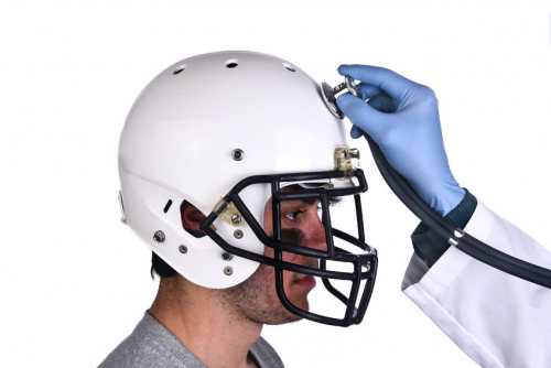 Brain injury football'