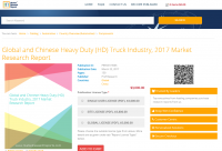 Global and Chinese Heavy Duty (HD) Truck Industry, 2017
