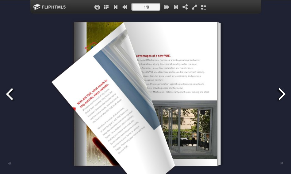 FlipHTML5 Introduces Brochure Maker to the World