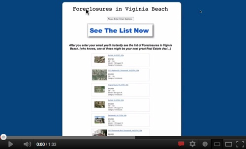 Luxurious Foreclosures in Virginia Beach!'