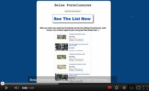 Search All Boise Foreclosures For Sale!'