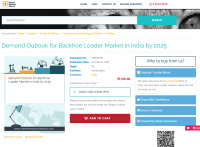 Demand Outlook for Backhoe Loader Market in India by 2025