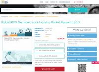 Global RFID Electronic Lock Industry Market Research 2017