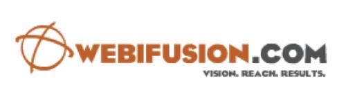 WebiFusion Logo'