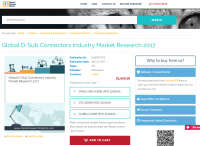 Global D-Sub Connectors Industry Market Research 2017