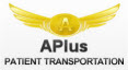 Logo for APlus Patient Transportation'