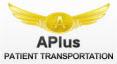 Logo for APlus Patient Transportation'