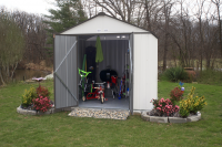 Arrow 8x7 EZEE Steel Shed